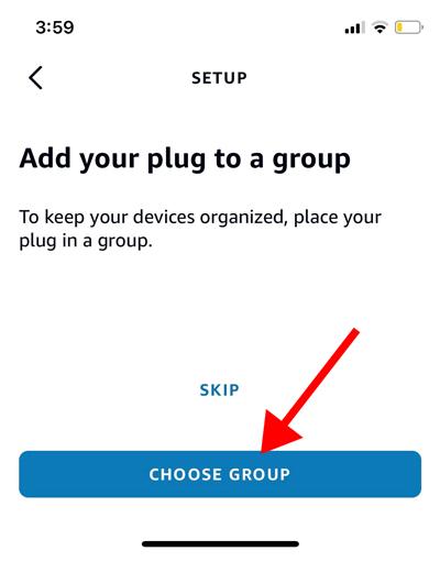 Добавить смарт-устройство в группу