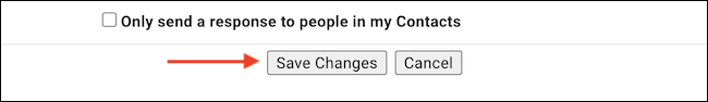"""Click the """"Save Changes"""" button to save the preferences."""