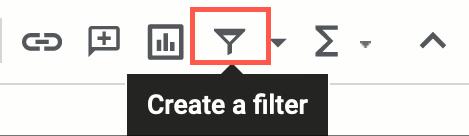 Click Create a Filter