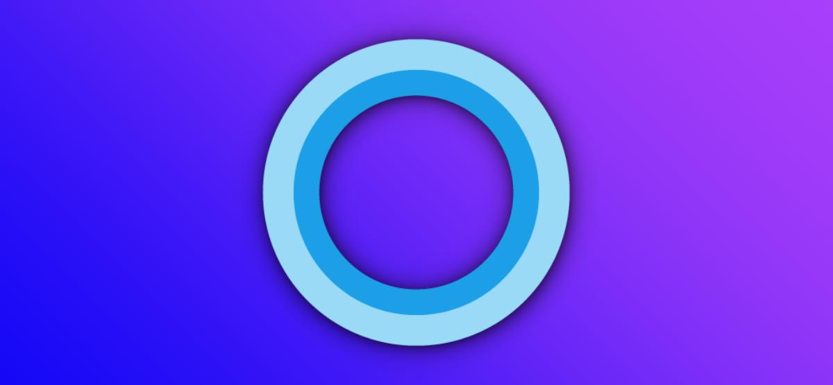 The Microsoft Cortana logo