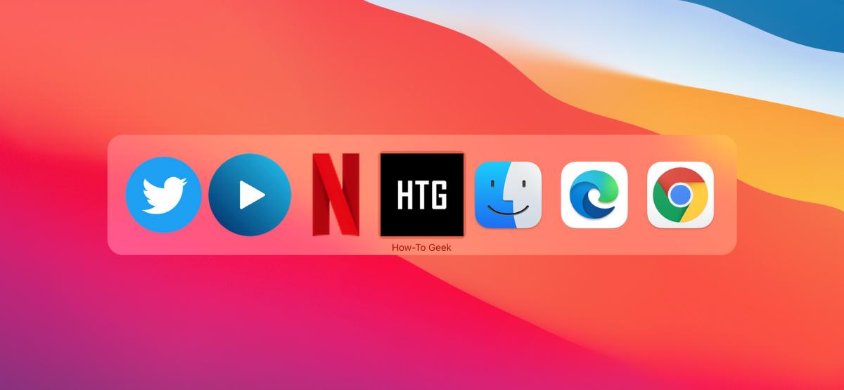Пользователь Mac переключается между веб-приложениями в Chrome