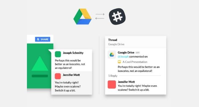 Slack Google Drive Logo Windows