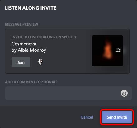 """Нажмите """"Отправить приглашение."""""""