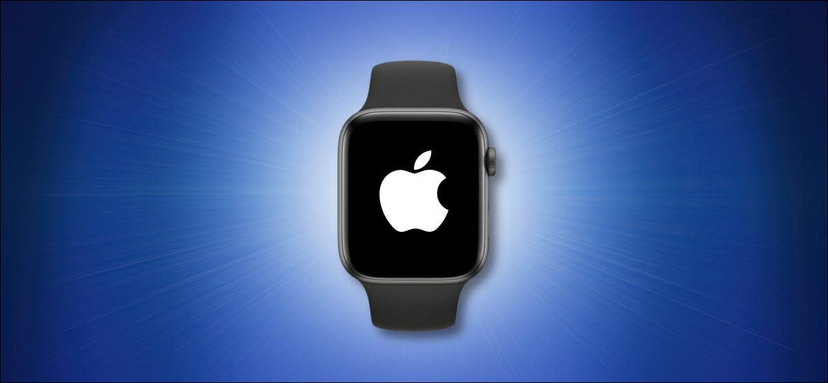 Apple Watch on a Blue Background Hero