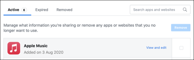 Rate connected apps and websites on Facebook