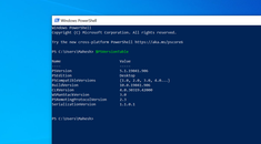 How to Check the PowerShell Version in Windows 10