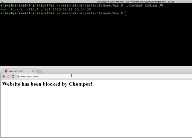 Chomper for Linux