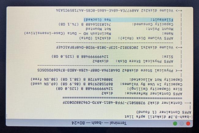 Find Disk Identifier