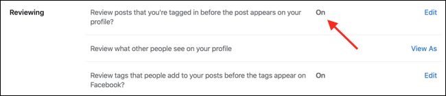 Enable Timeline Review on Facebook Web