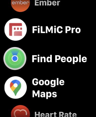 Apple Watch App Find People