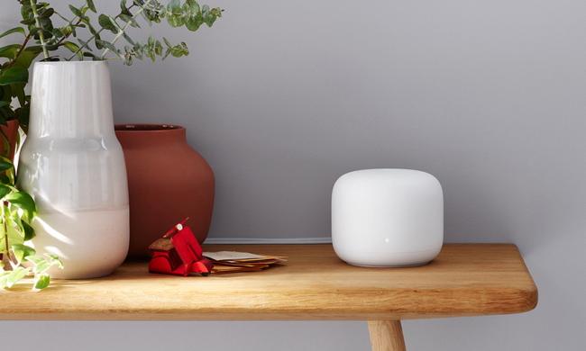 Google Mesh Wifi on table
