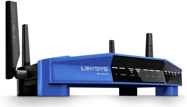 Linksys WRT3200ACM router.