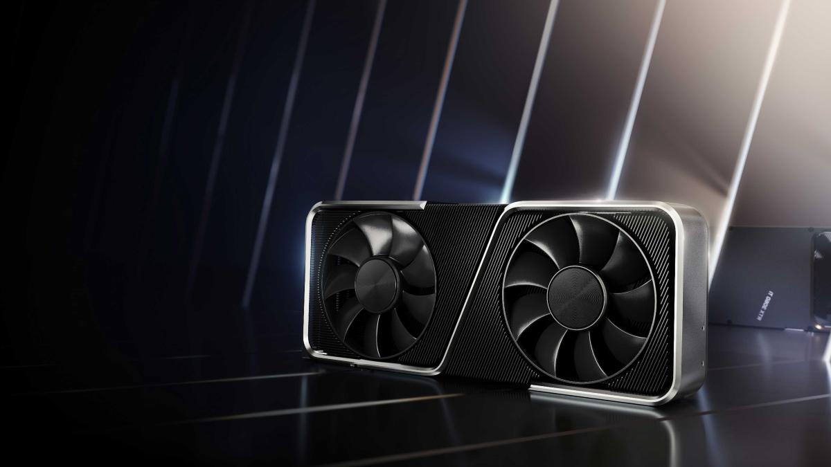 NVIDIA's GeForce RTX 3060 Ti LHR GPU.