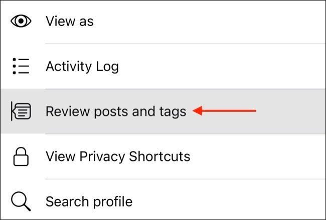 Review Facebook Posts on Mobile