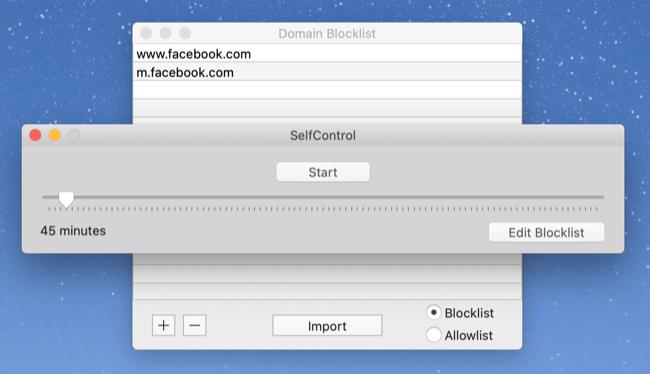 SelfControl for macOS