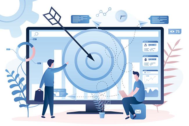 Иллюстрация целевой рекламы