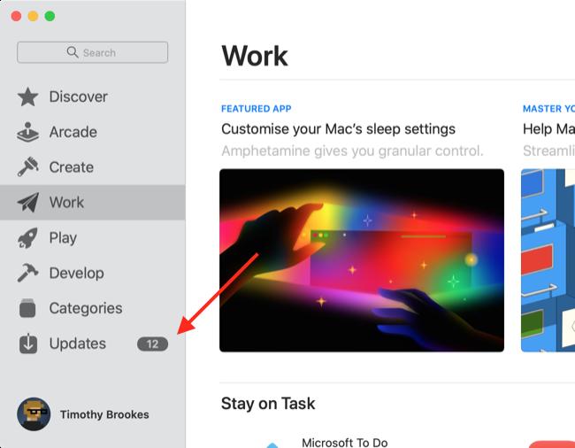 Update Safari via App Store