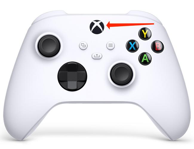 Nhấn và giữ nút logo Xbox trong sáu giây để tắt Bộ điều khiển không dây Xbox khi nó được ghép nối với Bluetooth