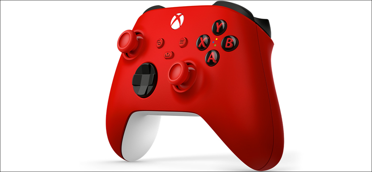 The red color variant of the Xbox Wireless Controller