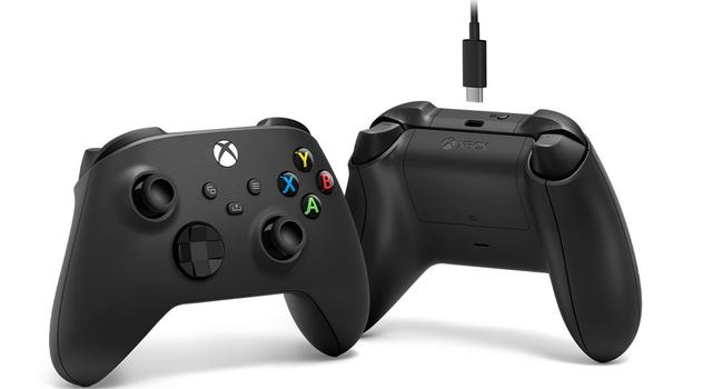 Беспроводной геймпад Xbox с кабелем USB Type-C
