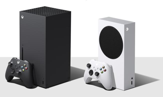 Xbox Series X consoles