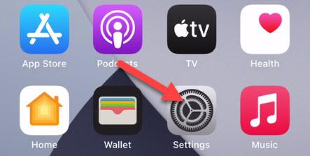"Open the ""Settings"" app."