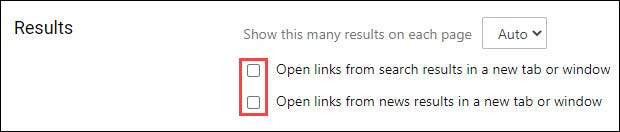 Uncheck both options.