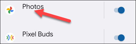 Find the app you'd like to minimize notifications for.