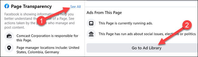 See ads from Facebook page.