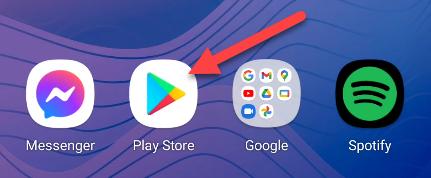Apri il Play Store.