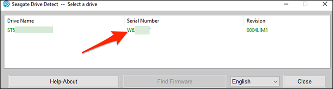 A Drive Detect window showing hard drive serial numbers.