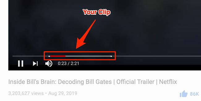 Αναπαραγωγή βίντεο κλιπ στο YouTube.