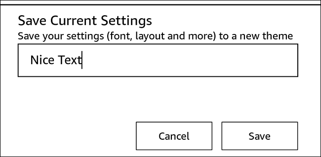 Give your custom theme a name