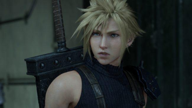 Final Fantasy 7 Remake Cloud PlayStation Plus
