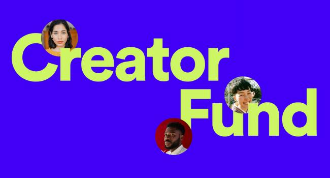 Spotify Greenroom Creator Fund