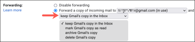 Choisissez quoi faire avec les e-mails