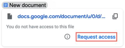 Запросить доступ к файлу в смарт-чипе
