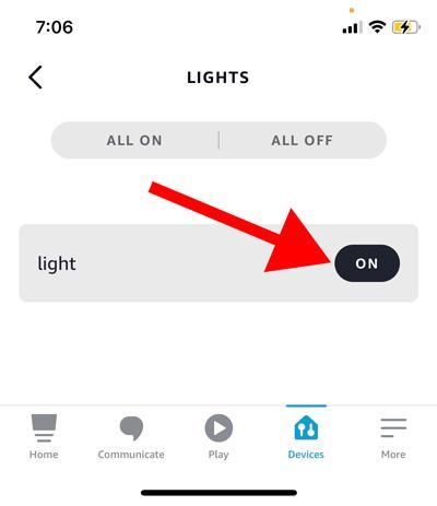 Умные светодиодные ленты в приложении Alexa