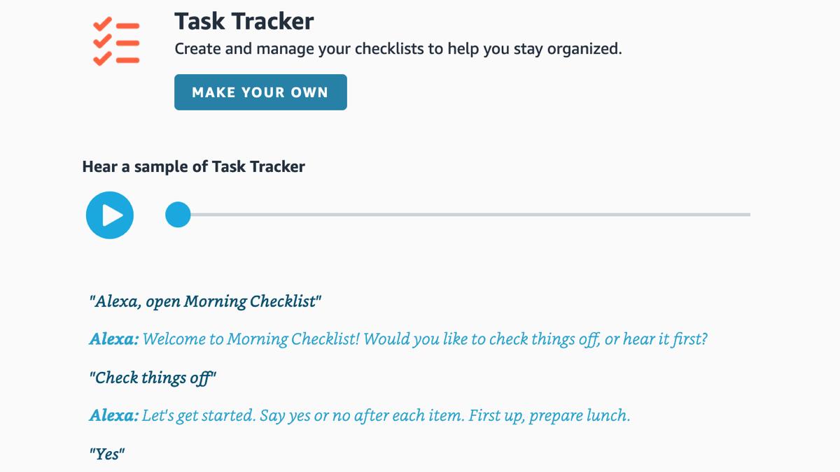 How to Create a Task Checklist with Amazon Alexa