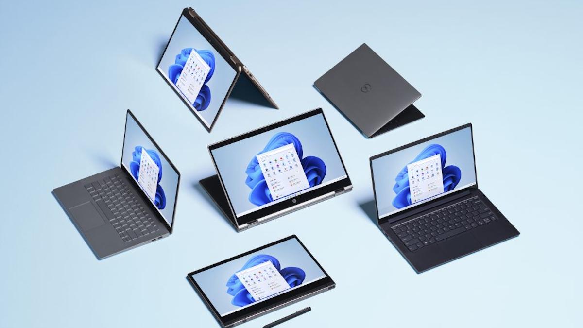 Windows 11 on PCs.