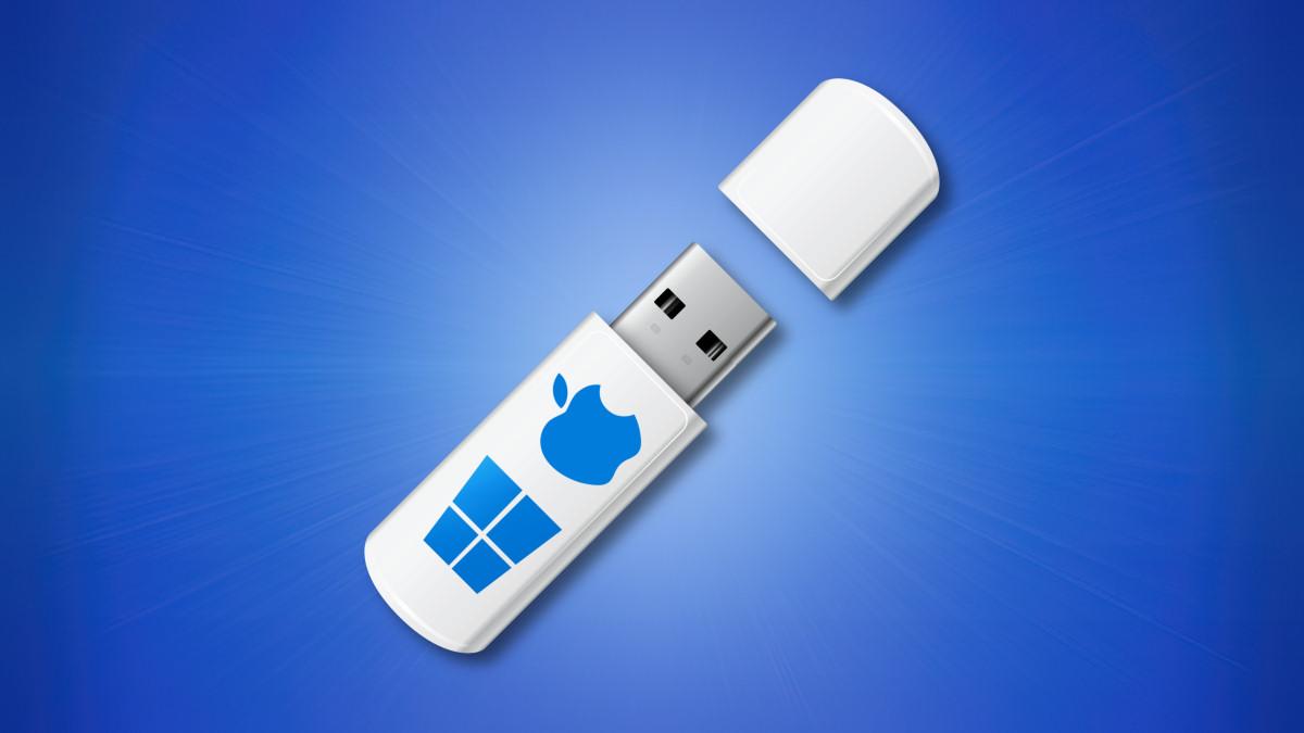 USB-накопитель для Windows и Mac
