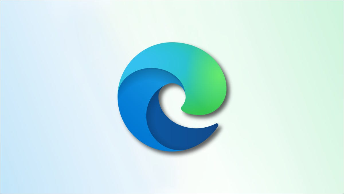Edge Logo on faded blue and green background hero