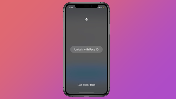 How to Lock Incognito Tabs with Face ID in Chrome for iPhone