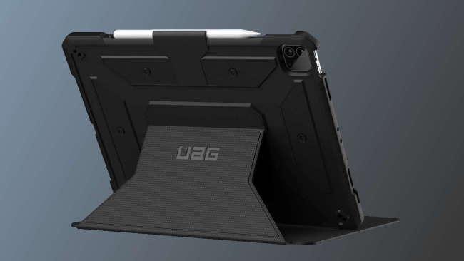 UAG case on dark grey background