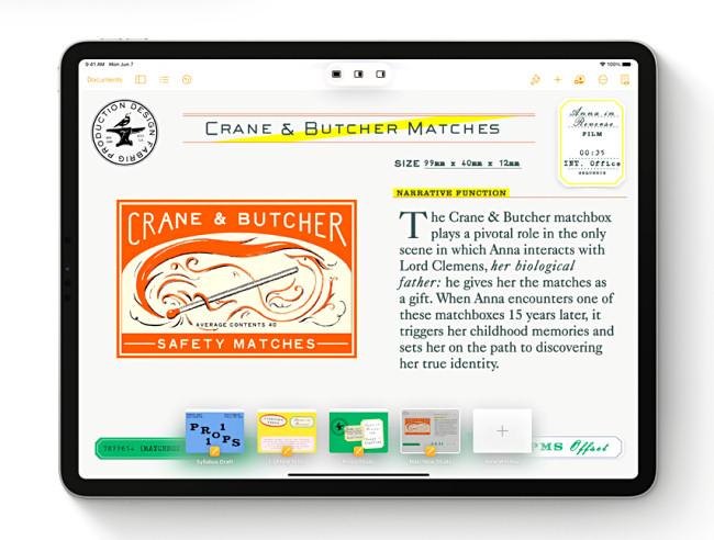 The Shelf and Multitasking on iPadOS 15.