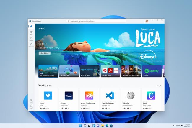 Windows 11's new Store app.