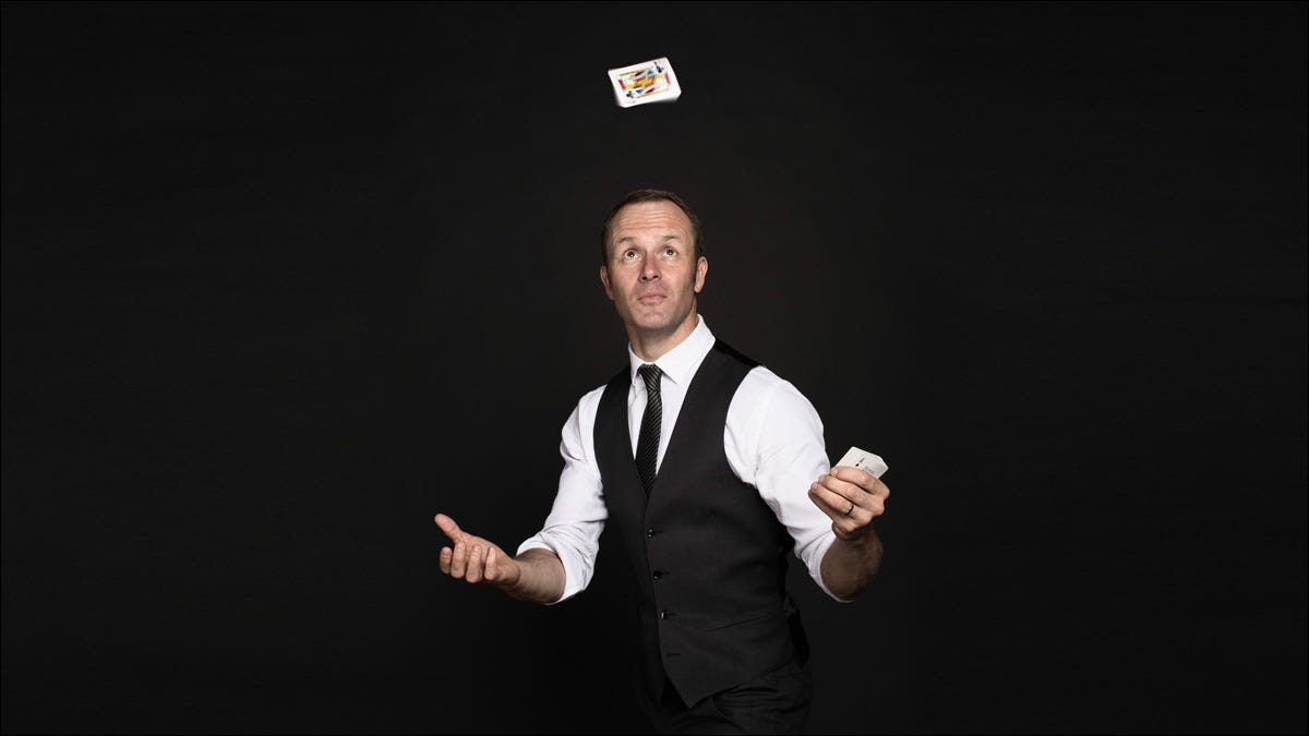 preview image showing magician