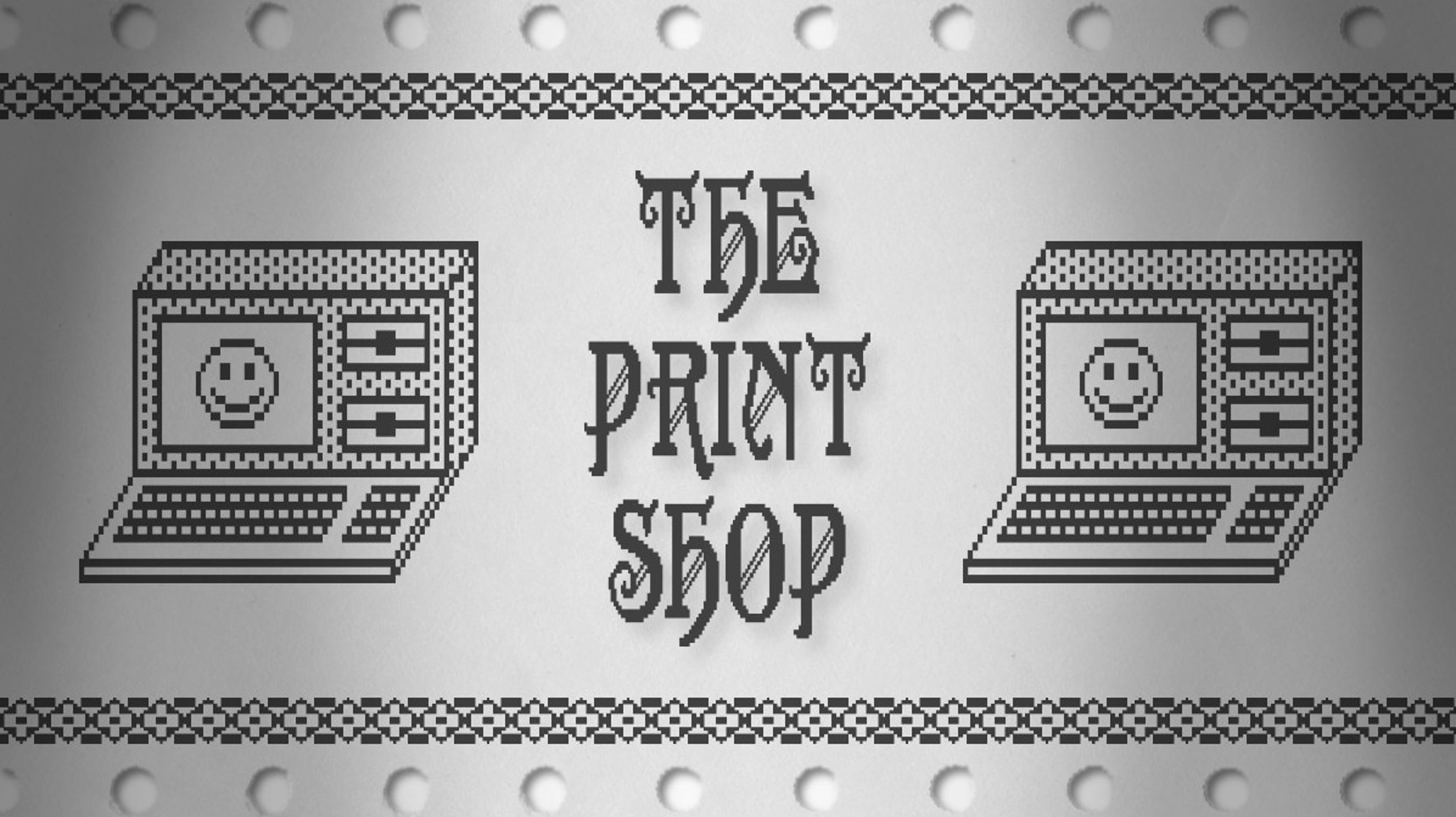 """In 1984, Brøderbund Software released """"The Print Shop,"""" a pioneering desktop publishing app that allowed anyone with a PC to easily make"""