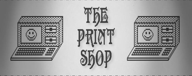 """How """"The Print Shop"""" Turned People into Banner Wizards in the 1980s"""