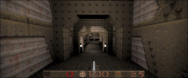 With a source port like QuakeSpasm, you can get widescreen and controller support.